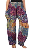 LOFBAZ Harem Pants for Women Yoga Boho Hippie Clothing...