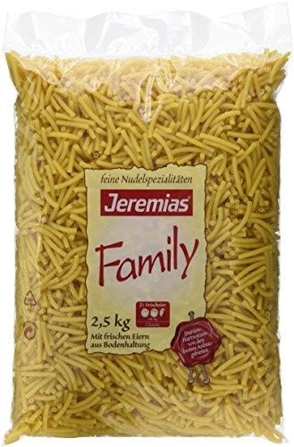 Jeremias Makkronelli, Family Frischei-Nudeln, 1er Pack (1 x 2.5 kg Beutel)