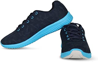 Vector X RS-7060 Running Shoes (Navy-SkyBlue)
