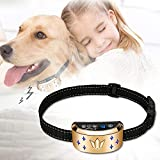 Dog Bark Collar, Waterproof Dog Training Collar, 4 Stop Anti Barking Modes [Beep, Vibration, and Shock], Anti Bark Collar Rechargeable for Small/Medium/Large Dogs
