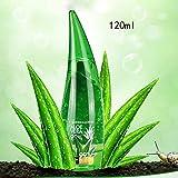 LCJDD Real Aloe Vera Gel, Aloe Gel Gel Hidratante Facial Crema Natural para el Cuidado de la Piel para Cara, Cuerpo (260ml)