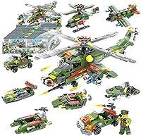 ビルディングブロックおもちゃ514PCS建設STEMおもちゃ6歳の男の子用8-in-1ヘリコプターまたは8つの小さなおもちゃに分解ベストギフト