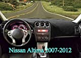 Dash Cover Dashboard Cover Mat Carpet Pad Fit for Nissan Altima 2007 2008 2009 2010 2011 2012,Fits Altima Sedan Coupe 2007-2012 (black)Y29