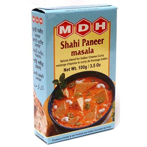 4x MDH Shahi Paneer Masala 100g Gewürzmischung für Käse Curry