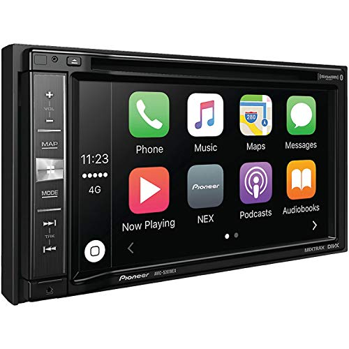 Pioneer AVIC-5201NEX In-Dash Navigation AV Receiver with 6.2' WVGA Touchscreen Display