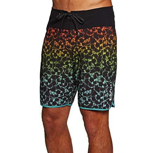 """Rip Curl Herren Mirage Mason Haze 19""""Boardshorts Board Segeln Bootfahren Wassersport Shorts Schwarz - Easy Stretch Wasserdicht"""
