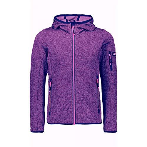 CMP Mädchen Jacke Girl Jacket Fix Hood 30H5905 Blue-Gloss 152