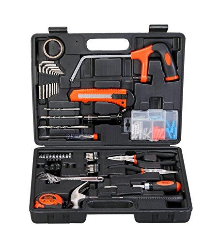 BLACK+DECKER hand tool kit (Orange/Black)