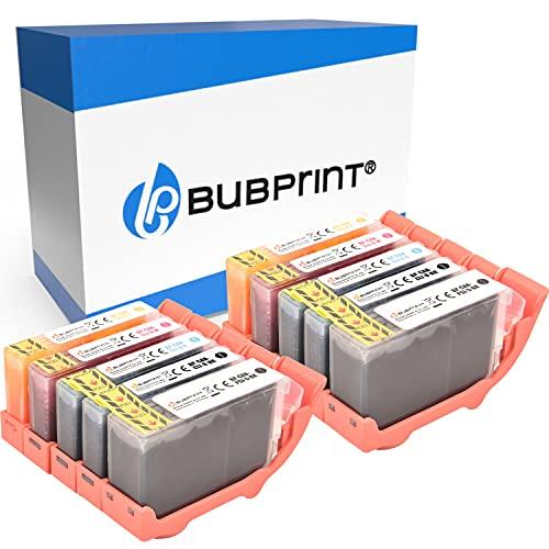 Bubprint Kompatibel Druckerpatronen als Ersatz für Canon PGI-5 CLI-8 für Pixma IP3300 IP3500 IP4200 IP4300 IP4500 IP5200 IX4000 MP510 MP600 MP610 MP970 MX700 10er-Pack