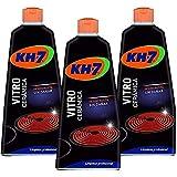 KH-7 | Crema para la Limpieza la Vitrocerámica | 3 Recipientes de 450 ml | Desincrusta y...