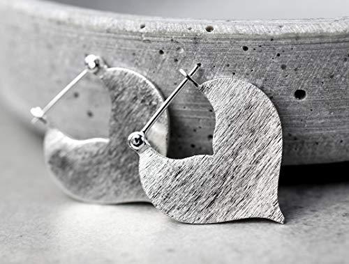 SULTAN III 925 Sterling minimalistische Ohrringe im Orient Stil (Silber)
