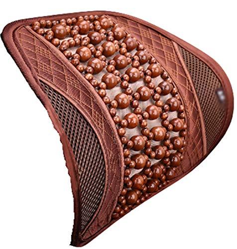 Almohada Soporte Lumbar Almohada Asiento De Coche Cintura Cojín Proteger Columna Vertebral Vertebral Lecho Respaldo Cama Almohada, khaki,40 * 40cm