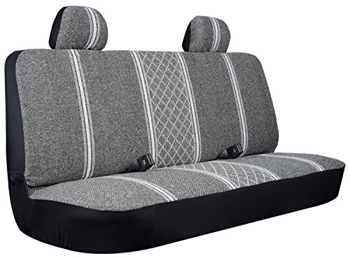Allison 67-1919GRY Gray Diamond Back Large Bench Truck Seat Cover - Pack of 1