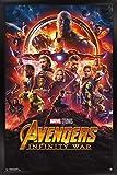 Trends International Avengers: Infinity War-One Sheet Wall Poster, 24.25' x 35.75', Multicolor