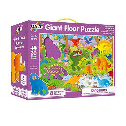 ASA Toys Galt A0866B Giant Floor Puzzle - Puzle de Dinosaurios Gigante (60 cm x 90 cm)