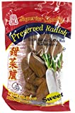 Superior Quality PRESERVED SWEET RADISH - 8 oz - Product of Thailand