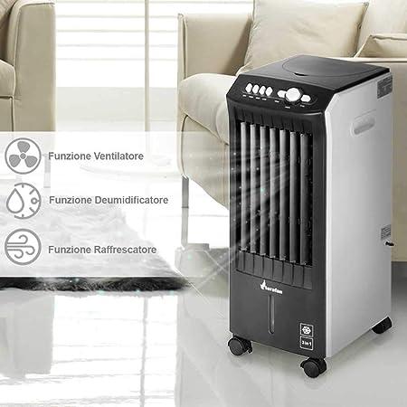Raffrescatore da muro aria refrigeratore ventilatore per parete con telecomando