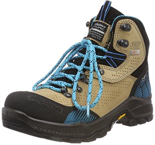 Alpina Damen 680406 Trekking-& Wanderstiefel, Braun (Braun 2), 40 EU (6.5 UK)