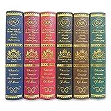 洋書 イミテーション ブック 本 模型 辞典 カラー サンプル ダミー フェイク book アンティーク 調 ディスプレイ 飾り 本棚 インテリア (大6冊セット)