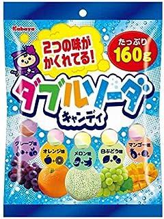 Kabaya Double Soda Candy 5 Fruit Flavor Pack