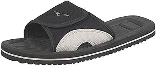 PDQ Mens Surfer Touch Fastening Beach Mule Pool Shoes