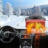 Car Heater 12V Windshield De-Icers 2 in 1 150W Fast Heating & Cooling Fans Cars Defogger Plug in Cigarette Lighter