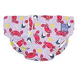Bambino Mio SWPL CRA Costumino Contenitivo Mutande Contenitive da Nuoto, 1 - 2 Anni, Multicolore (Baia Dei Granchi)