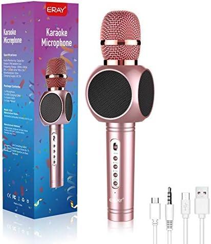 4 in 1 MODAR Wireless Bluetooth Karaoke Microphone Speaker Recorder Voice Changer Wireless Karaoke product image
