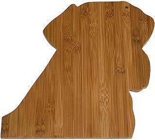 A Pet Project APCB07 Bamboo Labrador Cutting Board, 12 X 12 X 0.4