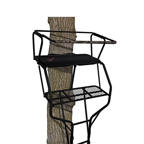 BIG GAME LS4860 18' Guardian XLT Two-Person Ladderstand, Camo/Black