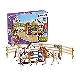 Schleich Coffret L'entraînement au Concours d'Horse Club Lisa, 42433, Multicolore
