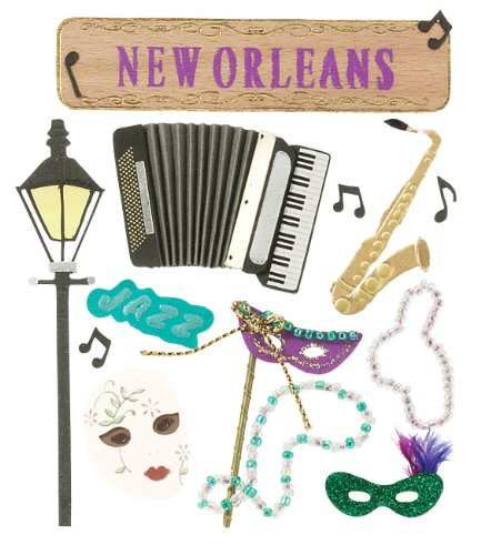 Jolee's Boutique New Orleans Stickers