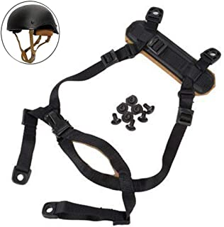CyberDyer Airsoft Helmet Strap Tactical X-Nape Suspension System 4 Points Chin Strap for Fast/MICH/ACH/IBH Helmets