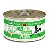 Weruva Cats In The Kitchen, Lamb Burger-Ini With Lamb Au Jus Cat Food, 3.2Oz Can (Pack Of 24)