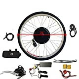 Kit de conversión para bicicleta eléctrica (36 V, 500 W, 28')