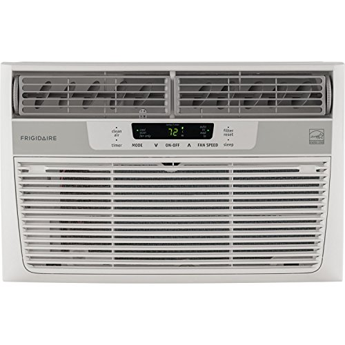 Frigidaire FFRE0633S1 6,000 BTU 115V Window-Mounted Mini-Compact Air Conditioner with Full-Function Remote Control