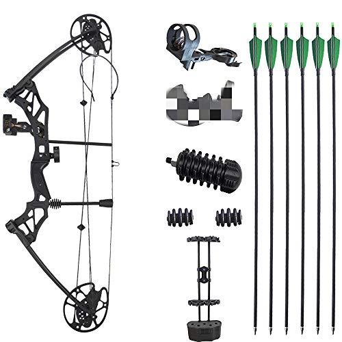 SHARROW Archery Compound Bow Kit 30-60lbs Complete Compound Bow Arrow...