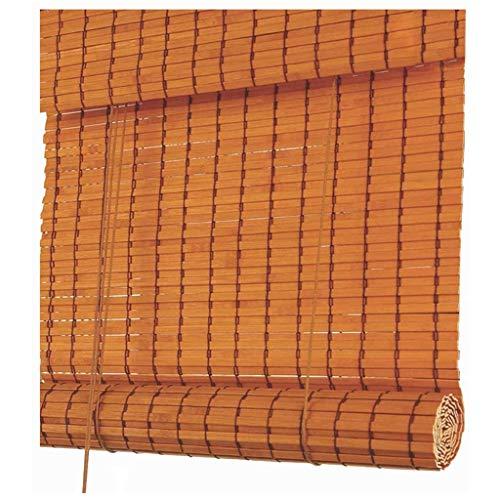 zhicheng shop Persiana Enrollable de bambú para Exteriores, Cortinas de caña Natural Tejidas a Mano, Parasol de partición, Adecuado para Patio, balcón, Cocina