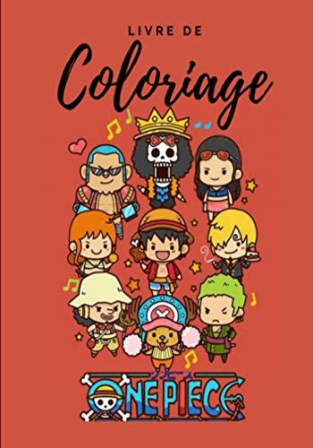Livre de coloriage One Piece: Livre de coloriage Anime / Manga / One Piece / Luffy ( 7 x 10 ) pouce