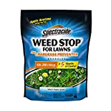 Spectracide Weed Stop For Lawns Plus Crabgrass Preventer Granules, 10.8-Pound, 2-Pack