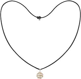 Tresor Paris Allure Light Blue 14mm Crystal Pendant /& Silver Necklace 020952