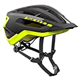 Scott Fuga Plus Rev Blck/Yeow RC M - Casco Unisex para Adulto