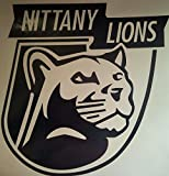 Penn State Nittany Lions Cornhole Decals - 2 Cornhole Decals