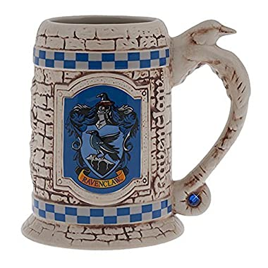 Wizarding World of Harry Potter : Sculpted Ceramic Ravenclaw Stein Mug Cup