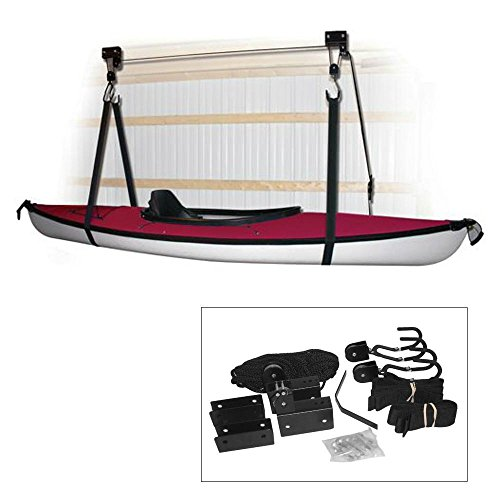 1 - Attwood Kayak Hoist System - Black
