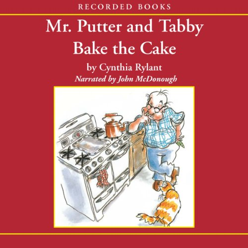 Mr. Putter and Tabby Bake the Cake  audiobook cover art
