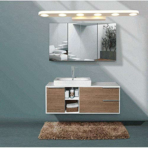 GXYAS LED spiegel koplampen, Led Spiegel Voorlicht, Europese RVS Waterdichte Vocht-Proof Spiegel Koplamp Badkamer Woonkamer Wandlamp