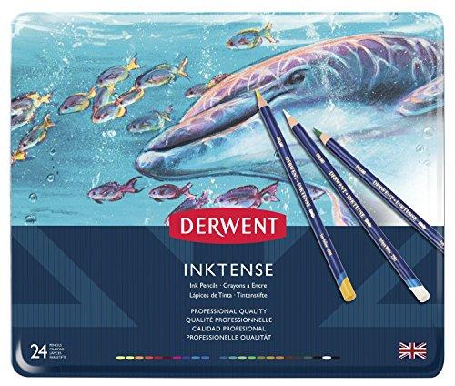 Derwent Inktense Colored Pencils