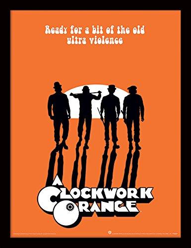 Stanley Kubrick A Clockwork Orange Ultra Violence Memorabilia, Mehrfarbig, 30 x 40cm