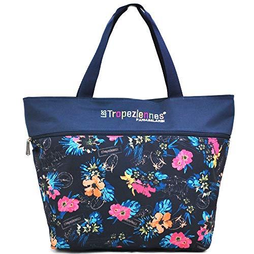Sac Shopping Les Tropeziennes 45cm - Bleu